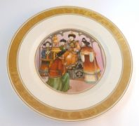Vintage Royal Copenhagen Hans Christian Andersen The Nightingale Fairy Tale Plate.